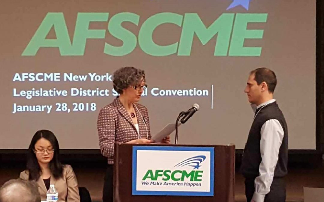 Council 66 wins a seat on AFSCME Executive Board